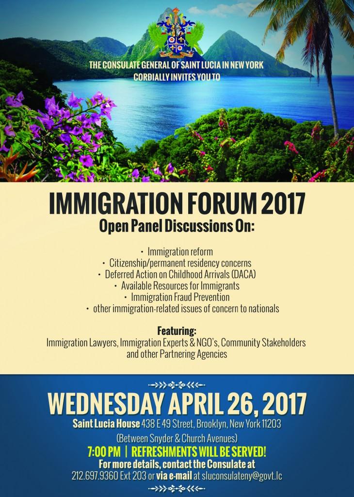 Immigration Forum 2017