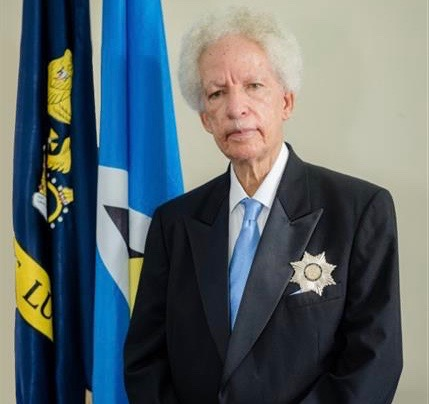 His Excellency Sir Emmanuel Neville Cenac, Governor General of Saint Lucia
