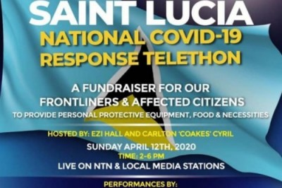 Fundraiser for St.Lucia Frontliners