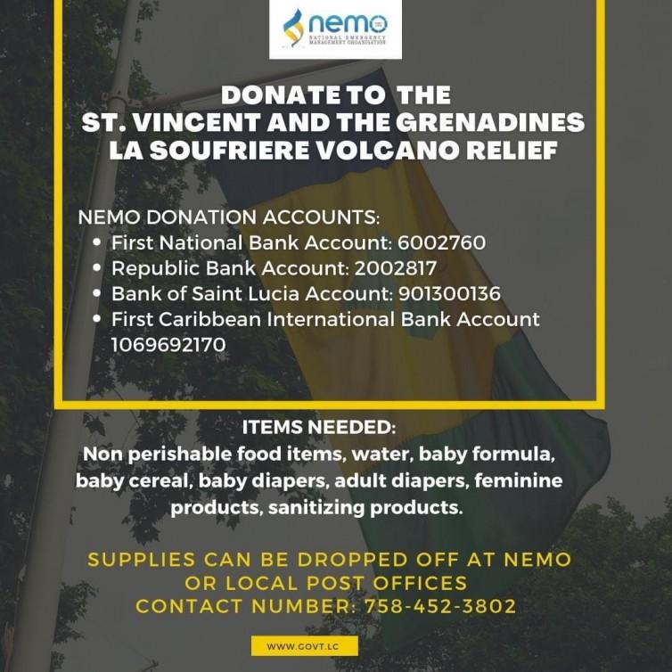 St. Vincent Relief fund